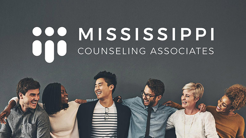 Mississippi Counseling Associates branding and web design project