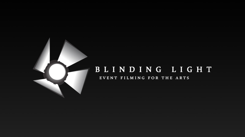 Blinding Light company branding and product design