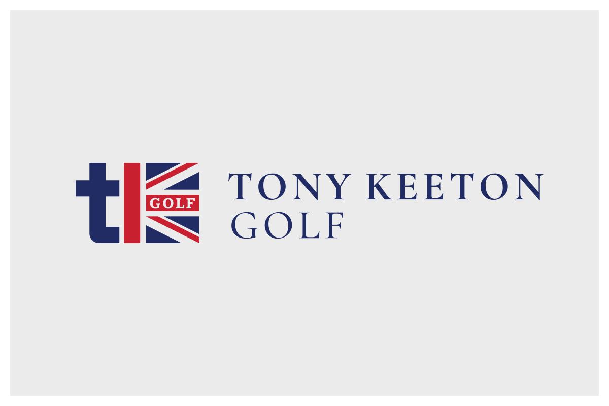Tony Keeton Golf logo + branding project