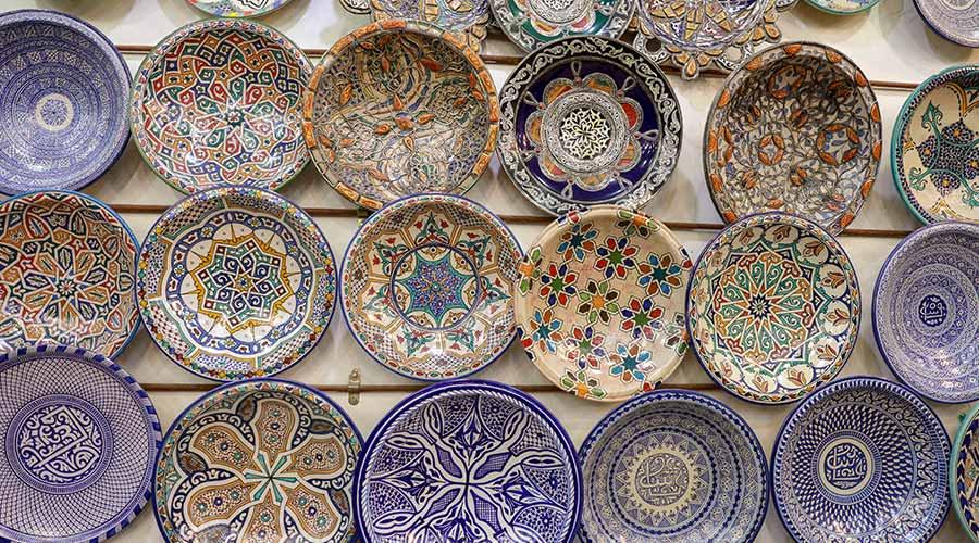 Custom pottery sold through Etsy