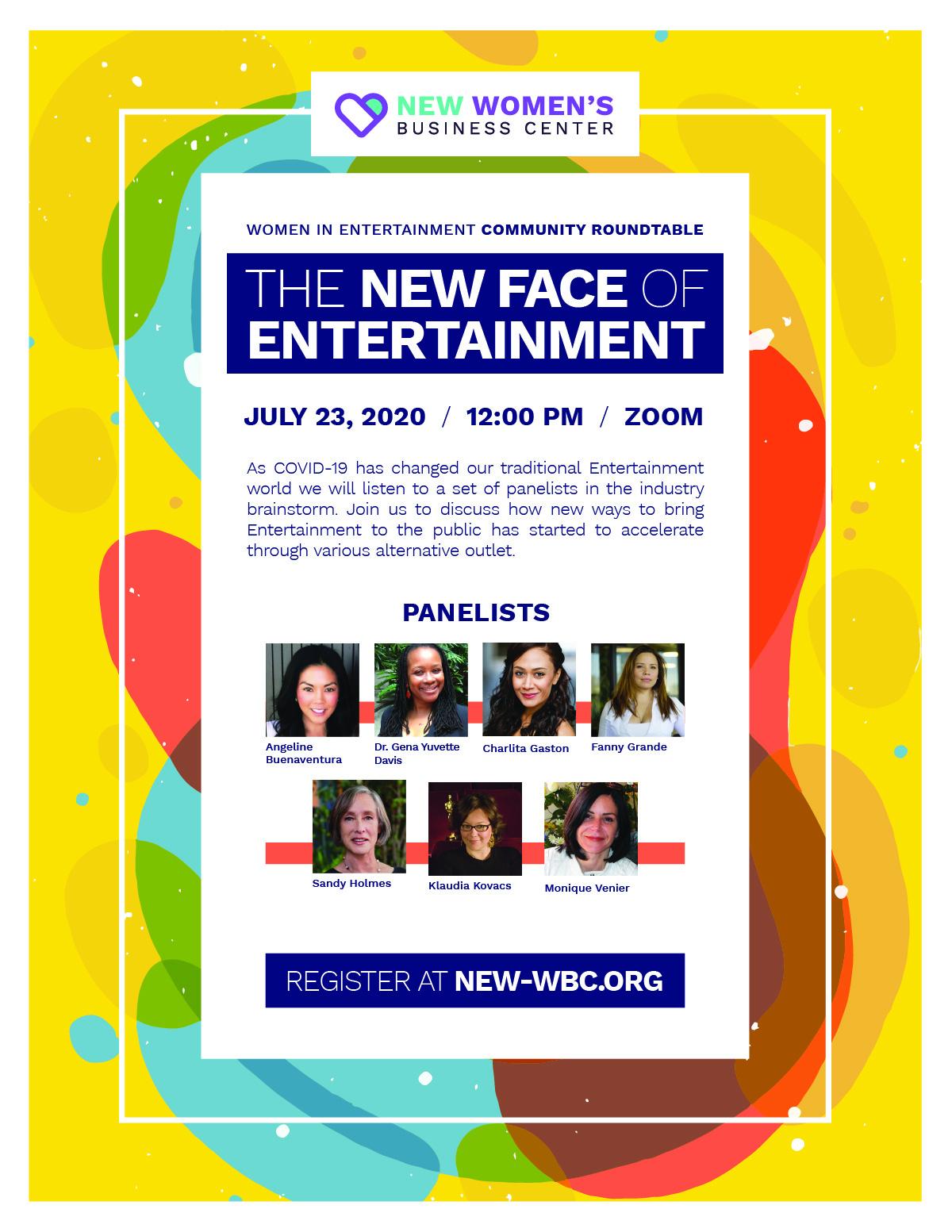NEW-WBC Community Roundtable program flyer built by CHIMENTO Agency