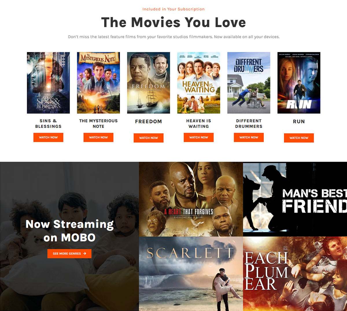 Now Streaming block on moboentertainment.com